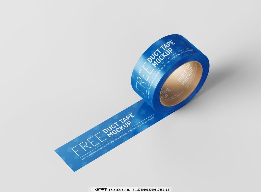 胶带样机图片,胶纸,不干胶,纸胶带,胶布,胶纸样机,不干胶样机