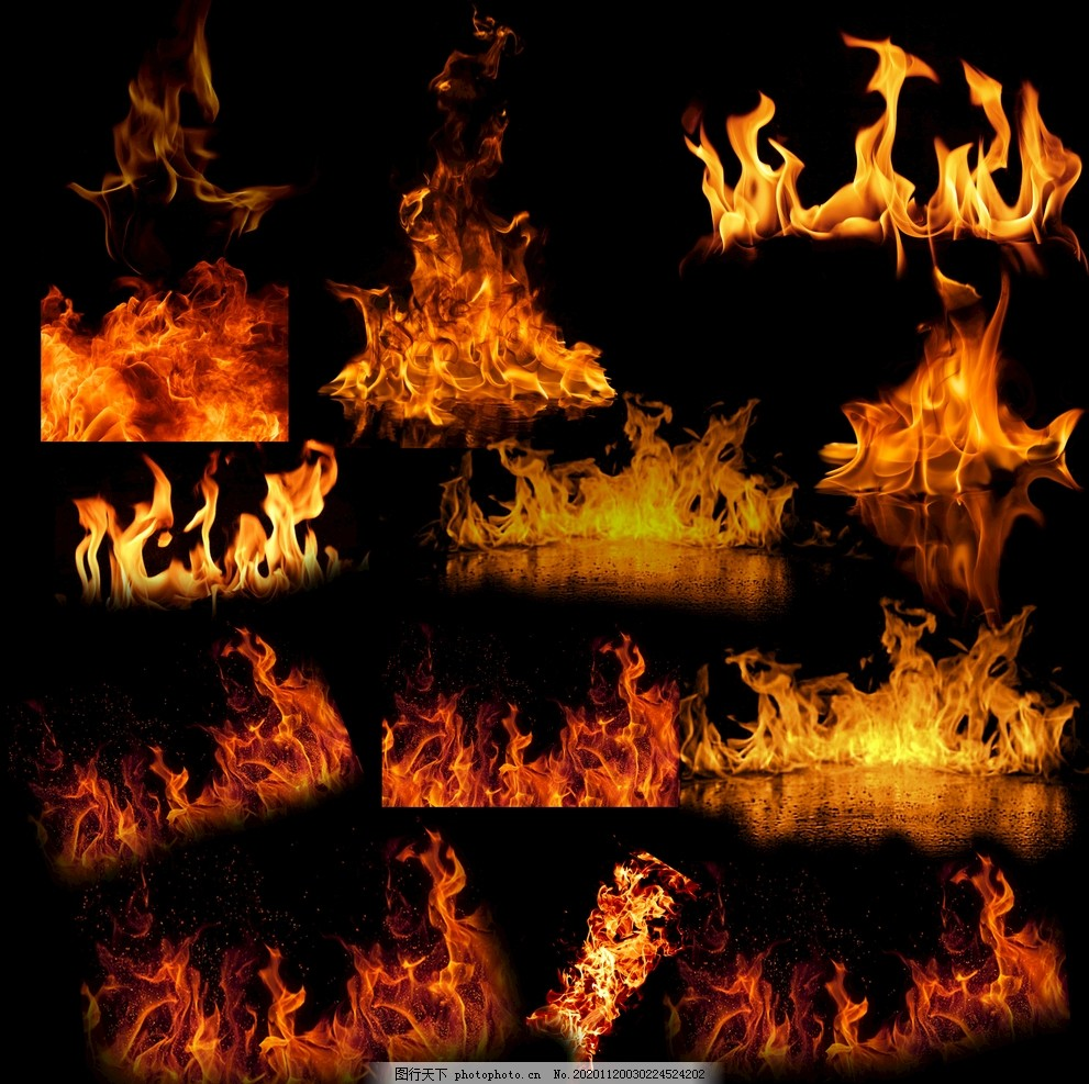 火焰燃烧图片,烧火,柴火,烈火,烈焰,火灾,火纹